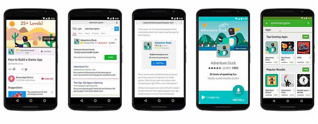 Campañas de Adwords para Aplicaciones