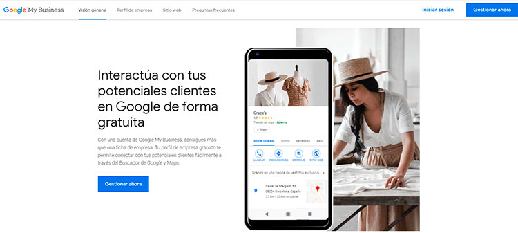 primeros pasos con google my business